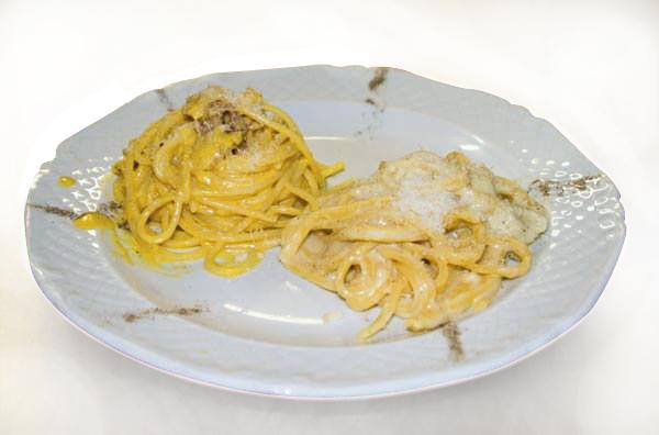 cacio e pepe, carbonara, ristorante venerina, ristorante di roma, mangiare a roma